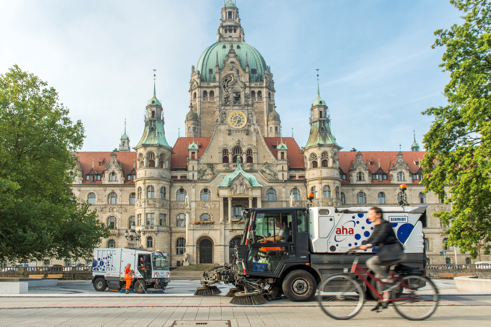 Starker Start für eine saubere Stadt