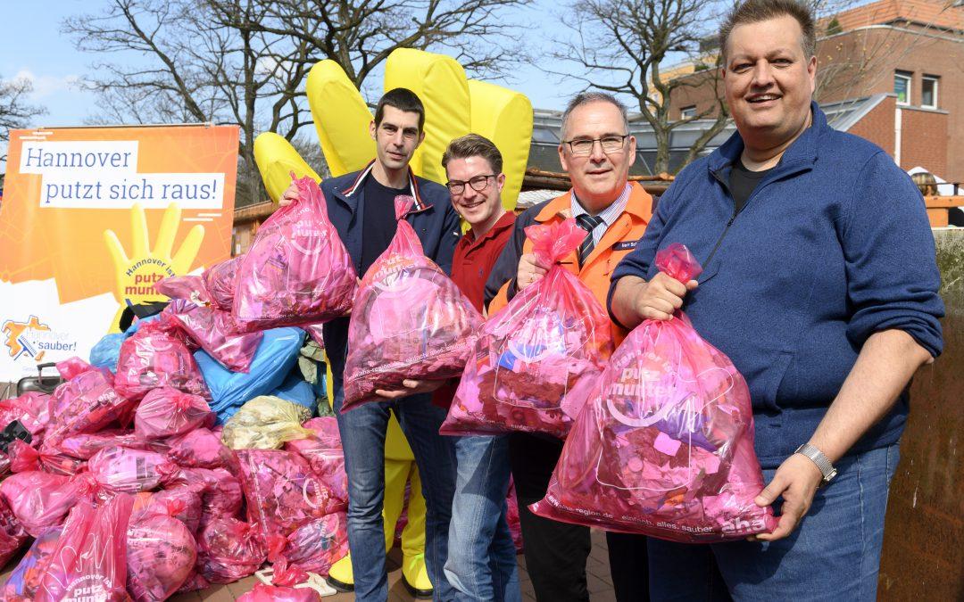 """Teilnahmerekord bei """"Hannover ist putzmunter"""""""