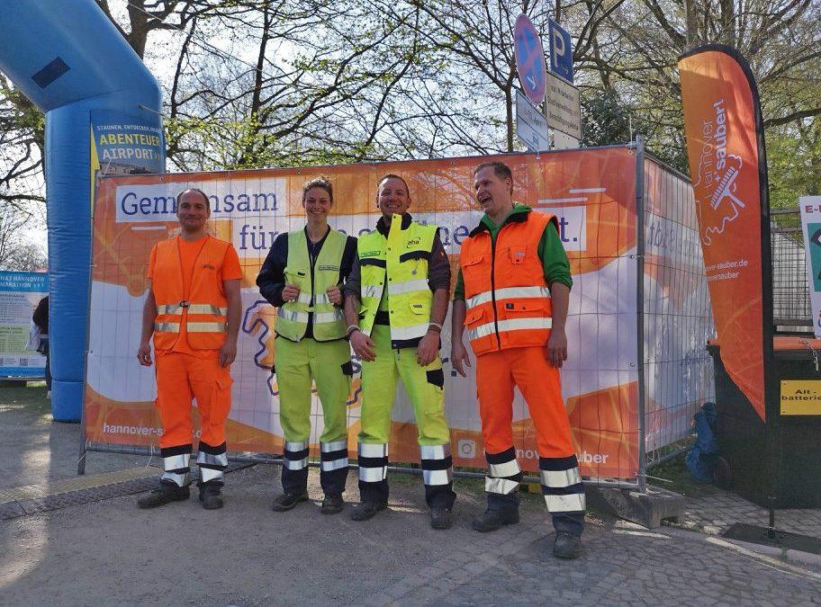 Sauberer HAJ Marathon dank aha!